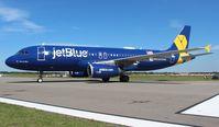 N775JB @ LAL - Jet Blue Veterans