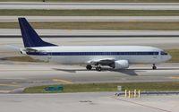 N803TJ @ MIA - Former LOT 737-400