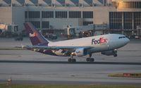 N805FD @ MIA - Fed Ex A310