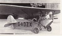 G-ADZX @ OOOO - Recently discovered photograph. - by Graham Reeve