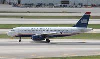 N825AW @ MIA - USAirways