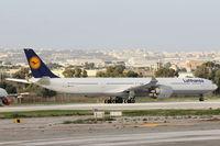 D-AIHR @ LMML - A340 D-AIHR Lufthansa - by Raymond Zammit