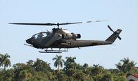 N826HF @ SUA - AH-1F Cobra - by Florida Metal