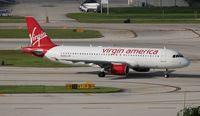 N848VA @ FLL - Virgin America