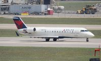 N857AS @ DTW - Delta Connection