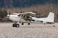 C-GIZW - Cessna 180K Skywagon on the gravel near Hope BC - by James Abbott