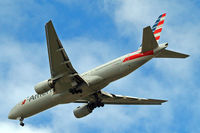 N766AN @ EGLL - Boeing 777-223ER [32880] (American Airlines) Home~G 20/05/2015. On approach 27R.
