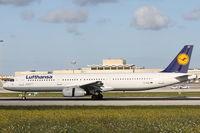 D-AISZ @ LMML - A321 D-AISZ Lufthansa - by Raymond Zammit