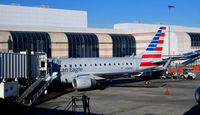 N136HQ @ KCLT - At the gate CLT - by Ronald Barker