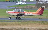 G-GTHM @ EGFH - Operated by Cambrian Flying Club based at the airport. - by Roger Winser