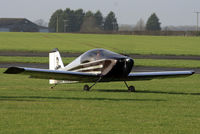 G-HELL @ EGNW - arriving at Wickenby - by Chris Hall