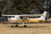 C-GHNX @ CYHE - Tied up at Hope BC Airstrip. - by James Abbott