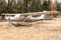 C-FELH @ CYHE - 1966 Cessna 172G Skyhawk in much need of some attention at the Hope BC Airport - by James Abbott