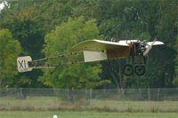 LX-TEC @ LFRN - Bleriot XI Replica, Take off, Rennes-St Jacques airport (LFRN-RNS) Air show 2014 - by Yves-Q