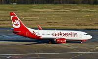 D-AHXJ @ EDDK - TUIfly (Air Berlin cs.), is here taxiing to RWY 14L at Köln / Bonn Airport(EDDK) - by A. Gendorf