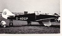 G-ADGP @ OOOO - Recently discovered photograph. - by Graham Reeve