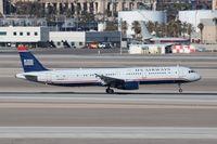 N539UW @ KLAS - Airbus A321