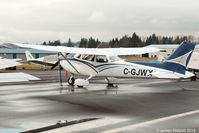 C-GJWX @ CYNJ - Sitting at Langley - by James Abbott