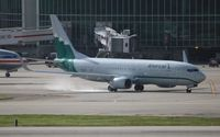 N916NN @ MIA - American Airlines Reno Air retro livery