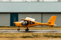 C-ILWA @ CYNJ - Takeoff roll at Langley Regional Airport - by James Abbott