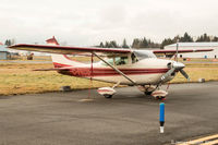 C-FECU @ CYN - Sitting on the tarmac at Langley Regional Airport - by James Abbott