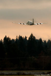 C-GAVX @ CYNJ - Sunset take off at Langley Regional Airport - by James Abbott