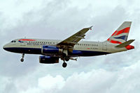G-EUPK @ EGLL - Airbus A319-131 [1236] (British Airways) Heathrow~G 31/08/2006 On finals 27L. - by Ray Barber