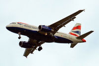 G-EUPK @ EGLL - Airbus A319-131 [1236] (British Airways) Home~G 16/10/2009. On approach 27R. - by Ray Barber
