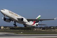A6-EAK @ LMML - Runway 31 - by Roberto Cassar