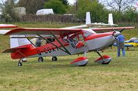 G-CDXY @ EGHP - Denney Kitfox Skymaster Mk.7 [PFA 172D-14112] Popham~G 05/05/2013 - by Ray Barber