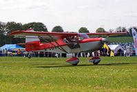 G-CDXY @ EGHP - Denney Kitfox Skymaster Mk.7 [PFA 172D-14112] Popham~G 03/05/2014 - by Ray Barber