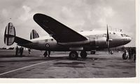 44 @ EGLK - Pictured at Blackebushe in 1956. - by Graham Reeve
