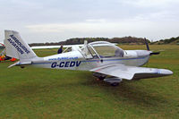 G-CEDV @ EGHP - G-CEDV   Evektor EV-97 TeamEurostar UK [2006-2826] Popham~G 02/05/2015 - by Ray Barber