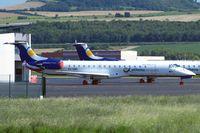 SX-CMA @ LFLC - Embraer ERJ-145EU [145107] (Athens Airways) Clermont-Ferrand Auvergne~F 15/07/2011