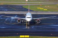 D-ABZE @ EDDL - AirBerlin A 320 arriving - by Günter Reichwein