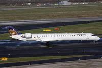 D-ACNL @ EDDL - Eurowings CRJ-900 arriving - by Günter Reichwein