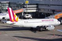 D-AGWM @ EDDL - Germanwings A 319 docked at Terminal A 15 - by Günter Reichwein