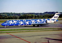 LN-RMD @ ESSA - Stockholm Arlanda 11.9.97 - by leo larsen
