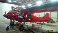 N135LB @ KOQW - Maintenance work at KOQW - by Floyd Taber