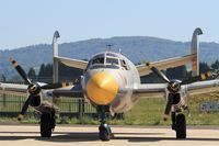 F-AZGE @ LFSX - Dassault MD-312 Flamant,  Parking area, Luxeuil-St Sauveur Air Base 116(LFSX) Open day 2015 - by Yves-Q
