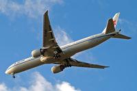 B-2085 @ EGLL - Boeing 777-39LER [38666] (Air China) Home~G 16/09/2013. On approach 27R.