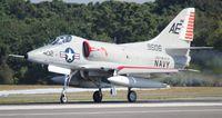 N2262Z @ NIP - A-4C Skyhawk