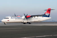 YU-ALN @ LDZA - Taxi for Departure - by planetarac