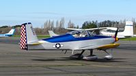 N55AU @ O69 - Locally-based 2003 Vans RV-6A taxing out for departure at Petaluma Municipal Airport, Petaluma, CA. - by Chris Leipelt
