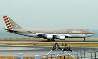 HL7417 @ VHHH - Boeing 747-48EM [25779] (Asiana Airlines) Hong Kong International~B 31/10/2005