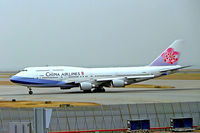 B-18212 @ VHHH - Boeing 747-409 [33736] (China Airlines) Hong Kong International~B 31/10/2005 - by Ray Barber