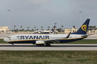 EI-EBD @ LMML - B737-800 EI-EBD Ryanair - by Raymond Zammit
