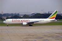 ET-ALO @ VTBD - Boeing 767-360ER [33768] (Ethiopian Airlines) Bangkok-International~HS 12/11/2005
