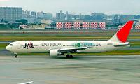 JA8253 @ RJOO - Boeing 767-346 [23645] (Japan Airlines) Osaka-Itami~JA 03/11/2005