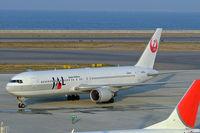 JA601J @ RJGG - Boeing 767-346ER [32886] (Japan Airlines) Nagoya-Chubu~JA 06/11/2005